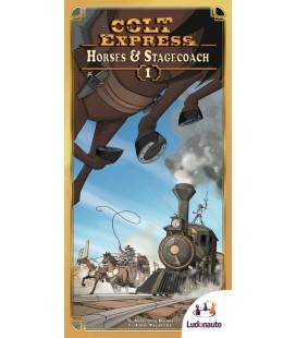 کلت اکسپرس: اسب ها و دلیجان (Colt Express: Horses & Stagecoach)