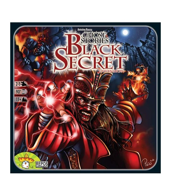 داستان های ارواح : راز سیاه (Ghost Stories: Black Secret)