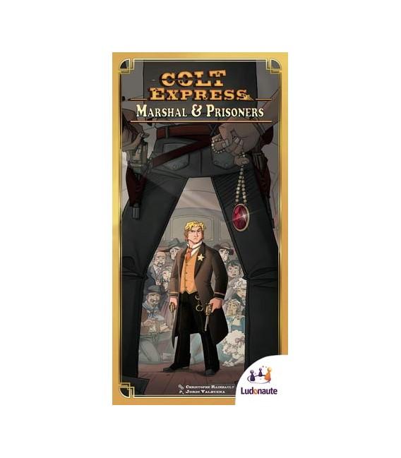 کلت اکسپرس: مارشال و زندانی ها (Colt Express: Marshal & Prisoners)