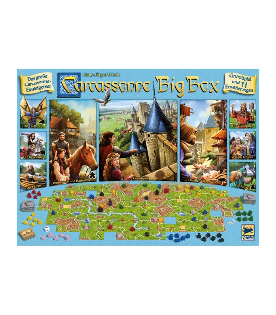 کارکاسونه جعبه بزرگ (Carcassonne Big Box 6)