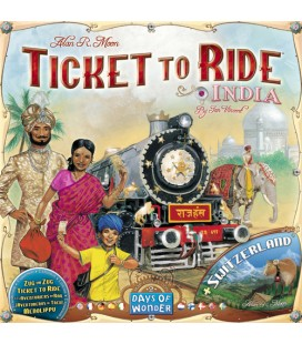بلیت حرکت: هندوستان (Ticket to Ride: India)