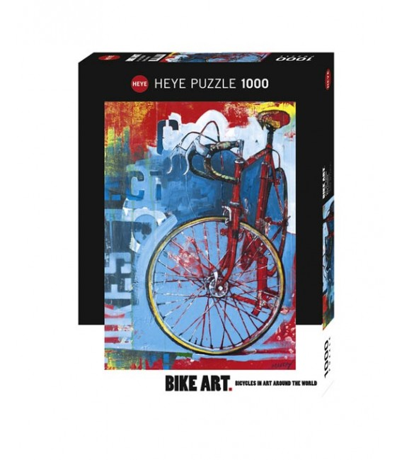 پازل 1000 تکه (Bike Art Red Ltd)