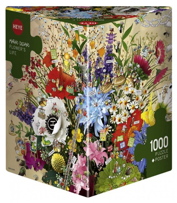 پازل 1000 تکه (Flowers Life)