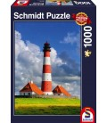 پازل 1000 تکه (Westerhever Lighthouse)