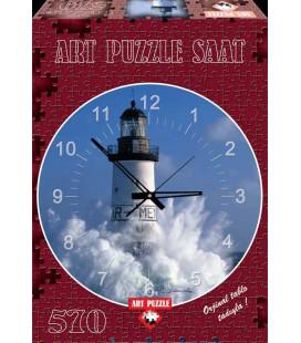 پازل 570 تکه ساعتی ar men lighthouse