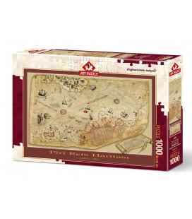 پازل 1000 تکه The Plural Reis Map