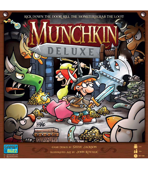 بازی ایرانی مانچکین (munchkin deluxe)