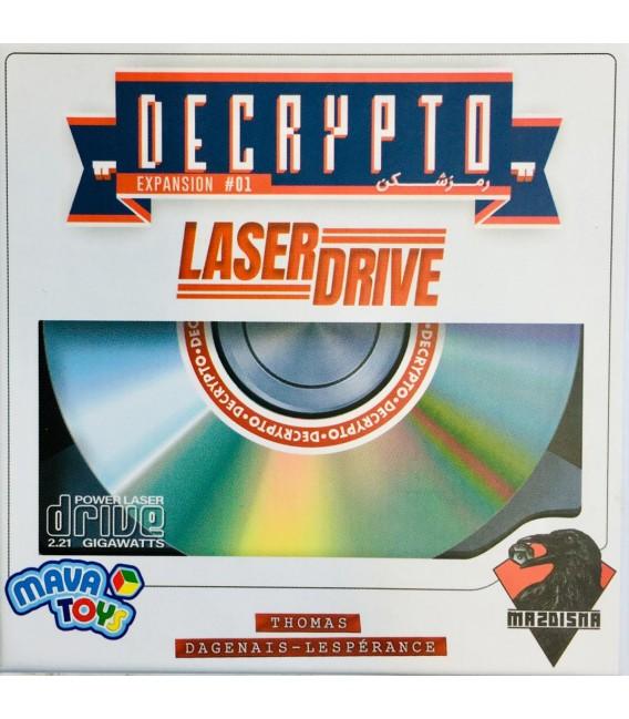 بازی ایرانی توسعه رمزشکن (Decrypto: Expansion 01 Laserdrive)